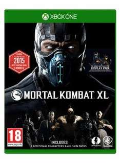 (Rakuten) Mortal Kombat XL inkl. Cosplay Pack DLC (PS4/Xbox One) ab 33,82€