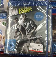 [lokal Berlin] Media Markt Alexanderplatz NO ESCAPE (Blu-ray) für 10€ statt 12,99€