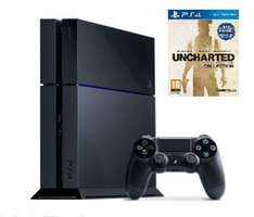 Sony PlayStation 4 1TB Konsole (generalüberholt) + Uncharted The Nathan Drake + Controller