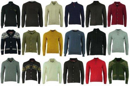Enzo Di Milano Herren Pullover oder Strickjacken, braun, dunkelrot oder beige, in Grösse XL, @ Outlet46.de, für 6.46 Euro inc. VSK