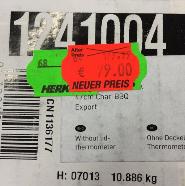 (Lokal fritzlar ) Weber one touch 47 cm silver 54€ unter idealo