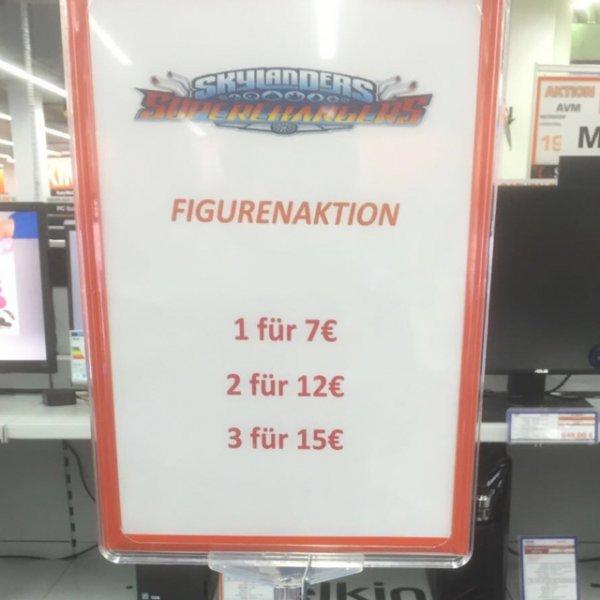 [lokal Saturn Oberhausen] Skylanders Supercharger Figuren & Autos für 7€ / 2 Stk. für 12€ / 3 Stk. für 15€!