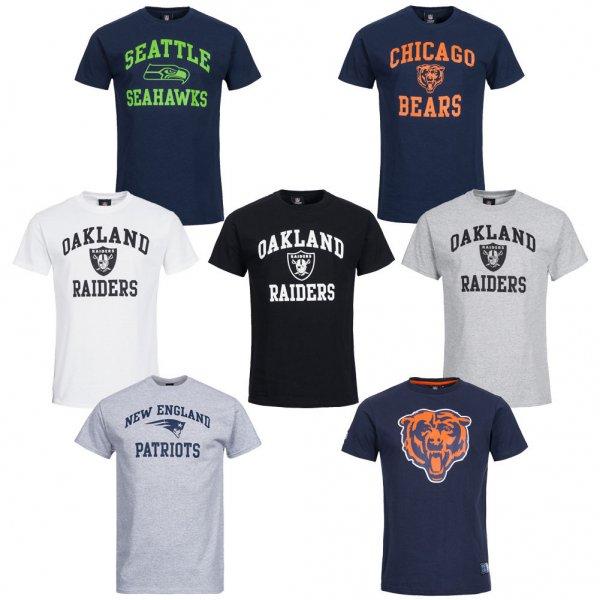 Original NFL T-Shirt / Fanshirt [Seahawks, Raiders, Patriots oder Bears] XS-XXL für nur 12,99€ bei eBay