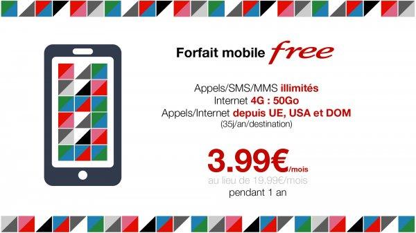 [Expats Frankreich] Flatrate-Mobilfunktarif mit 50 GB Daten, Flatrate für Festnetz und Mobilfunk für 3,99 EUR/Monat
