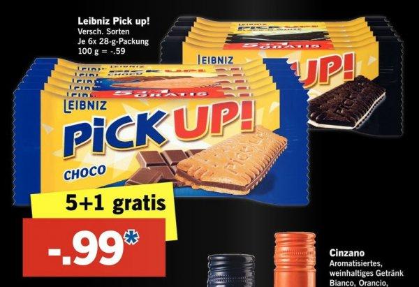 Vorankündigung [ Lidl am 09.04.] Leibniz Pick Up.6 Riegel für 0,99€