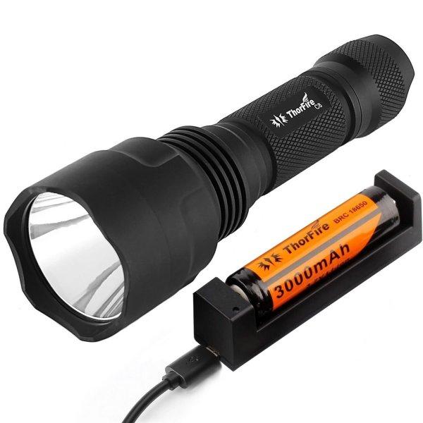 Cree Taschenlampe ThorFire C8s Taschenlampe um 20 % günstiger