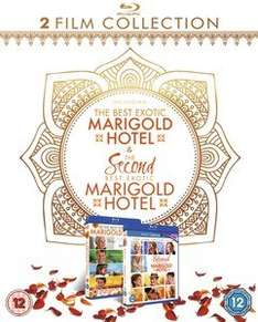 (Zavvi) (BluRay) Best exotic Marigold Hotel 1 & 2