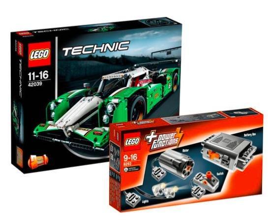 [Galeria Kaufhof] LEGO Technik Set Langstrecken-Rennwagen 42039 & Power Function 8293 für 89,99€ statt ca. 112€