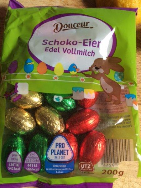 ACHTUNG! Schokofans aufgepasst - 200gr Douceur Vollmilch Schokolade [ProPlanet] Langes MHD!!!
