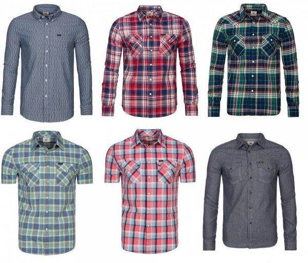 EBAY NEU Lee Shirt Herren Hemd Freizeithemd Sommerhemd in verschiedenen Modellen