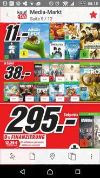 the Division, Far Cry Primal und mehr! [Xone/PS4] Lokal Media Markt Belm - Osnabrück