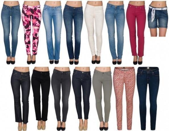 Lee Damen Jeanshosen für je 27,99€ inkl. Versand