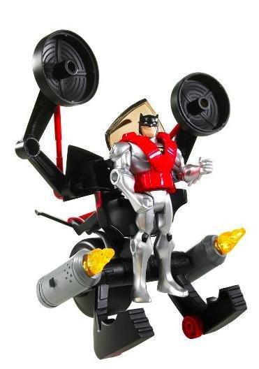 [Solenso.de] Batman Batcycle R2578 Wandelbares Spielzeug für 19,99€ inkl. VSK statt 30€/88€ plus VSK