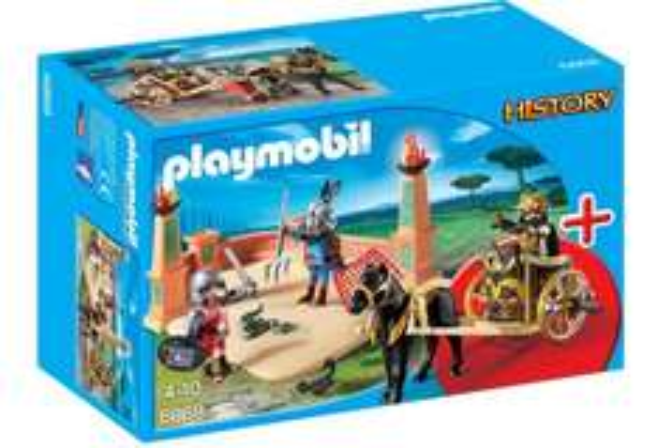 [Amazon Prime] PLAYMOBIL 6868 - StarterSet Gladiatorenkampf für 11,34€ statt ca. 19€