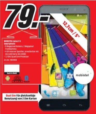 Media Markt Homburg & Pirmasens Mobistel Cynus F6 Dual Sim Handy