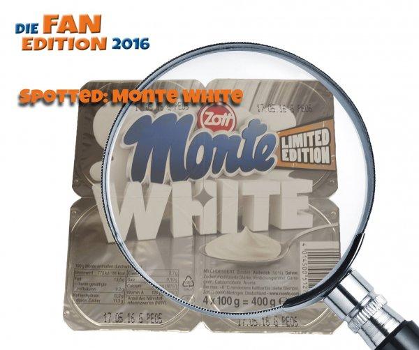 Zott Monte White Fan Edition 100% Milchcreme