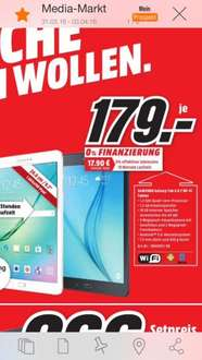 Samsung Galaxy Tab A 9.7 WiFi 16 GB Media Markt Berlin