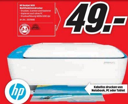 Media Markt Homburg & Pirmasens HP Deskjet 3633 - günstiger Drucker