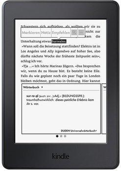 Kindle Paperwhite 3G (2015) - 300 ppi - generalüberholt bei Amazon