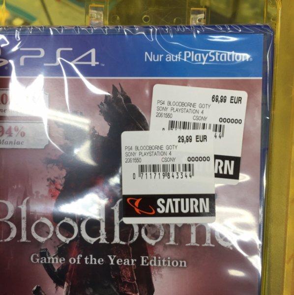 [Lokal Saturn Essen Steele) Bloodborne Game of the Year Edition