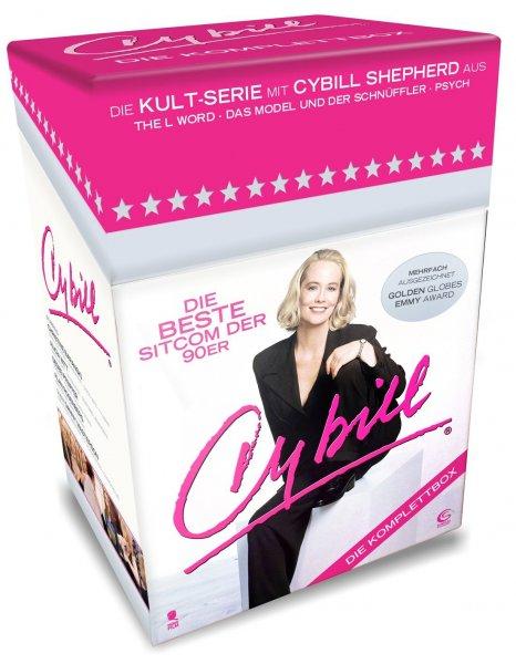 [Amazon] Cybill - Komplettbox, 87 Folgen auf 15 DVDs, PVG 34,40 €, 90er Serie
