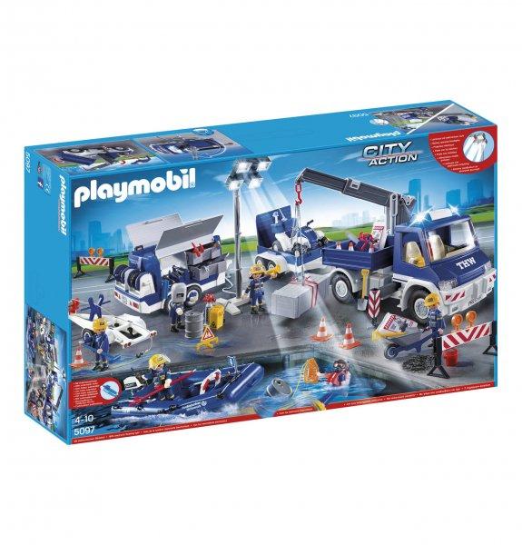 PLAYMOBIL® THW Großeinsatz-Set 5097 / Mit 10% NL Gutschein für 76.49€ möglich.