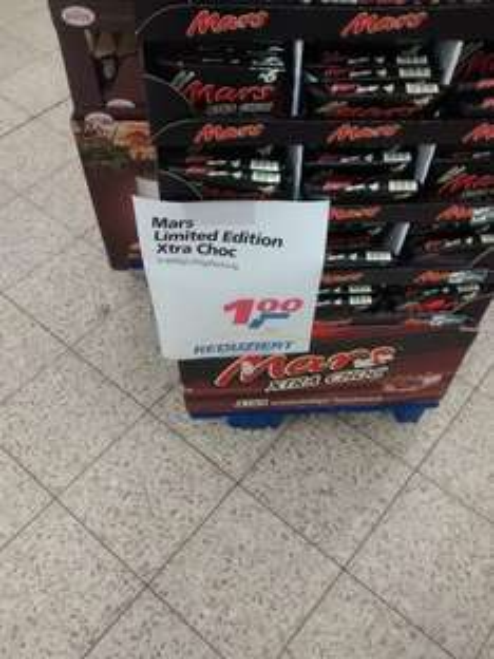 Mars Xtra Choc 6x42g 1,00€ @real Bremen-Habenhausen