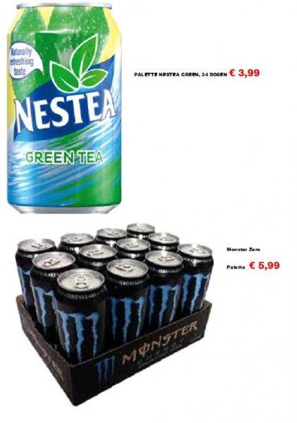 Denekamp/NL: Monster Absolutely Zero - 12 pfandfreie Dosen (also umgerechnet 50 Cent pro Dose)