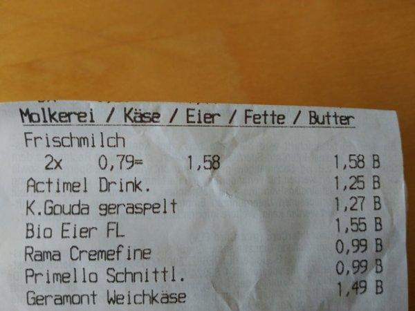 Kaufland [Berlin Goerzallee] Danone Actimel 8er für 1,25