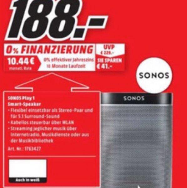 GoPro Session 4, Sonos Play 1 beim Media Markt Kaiserslautern, Neueröffnung nach Umbau bis 05.04. (Lokal)