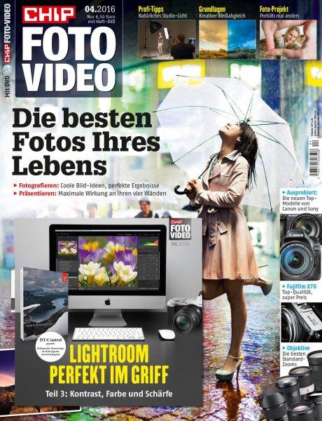Chip Foto-Video mit DVD 1 Jahr lang für 23,80.- durch 50 Euro Verrechnungsscheck