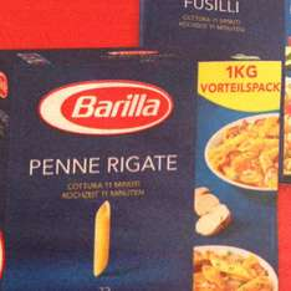 REAL Barilla Teigwaren Pasta Klassik verschiedene Sorten 1000g Packung