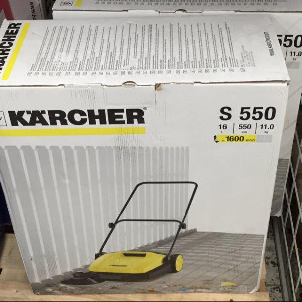 Kärcher Kehrmaschine S550 Real-Markt Rendsburg