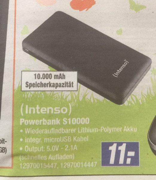 Intenso Powerbank S10000 bei Expert Klein für 11€ PVG 19,99€ offline
