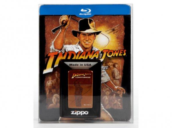 [Saturn.de] Indiana Jones - The Complete Adventures: Limitiertes Steelbook inkl. Zippo (Blu-Ray) für 31,99 EUR mit NL-Gutschein, VSK-frei