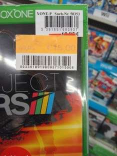 Project Cars (XBox One) für 15 € bei Real Eschborn (Lokal)