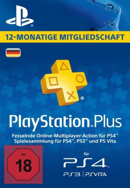 PlayStation Plus Mitgliedschaft DE - 365 Tage für 40,66€ @ GamesDeal.com