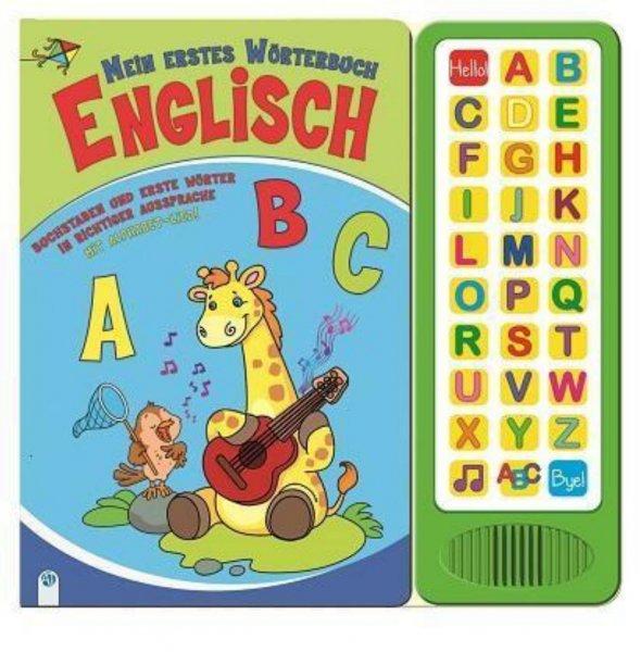 [BUCH.DE]..Kinderbuch.. Mein erstes Wörterbuch Englisch(Buchstaben und erste Wörter in richtiger Aussprache. Mit Alphabet-Lied)für 1.99€ Versandkostenfrei.
