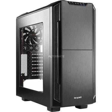 [ZackZack] PC Gehäuse - be quiet! Silent Base 600 Window Black (schwarz) (ATX, schallgedämmt, inkl. 2x Pure Wings) für 84,85