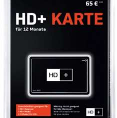 [Saturn Online] HD+ Karte 12 Monate
