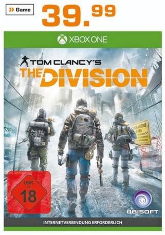 [Lokal Saturn Bremen] Xbox One - The Division für 39,99 € | Xbox One Quantum Break Konsole 299 € (Sammeldeal)