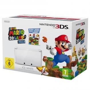 Nintendo 3DS Konsole Schneeweiss Bdl. (incl. Super Mario 3D Land - EU Ware)