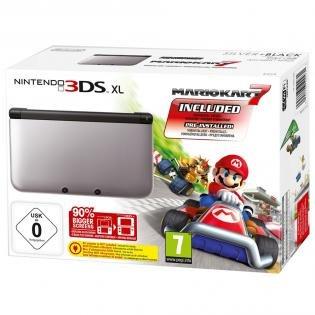 Nintendo 3DS XL Konsole + Mario Kart 7