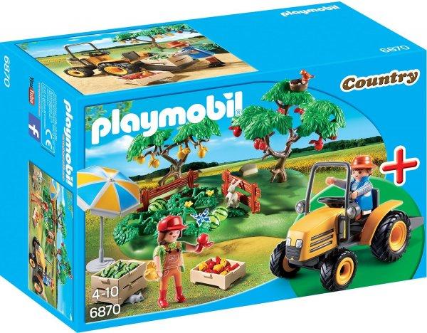 PLAYMOBIL 6870 - StarterSet Obsternte, Spielwerkzeug für 8,55€ mit Prime sonst ca. 15€ @ amazon.de