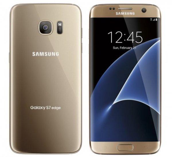 Samsung S7 Edge Gold @ eBay.de