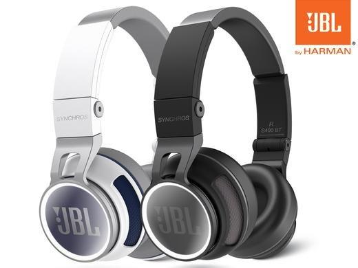 [Ibood] JBL Synchros S400BT (schwarz) - Wireless On-Ear Kopfhörer (Bluetooth 3.0, NFC, Touch Sensor, 15 Std. Akku, Mikrofon) für 105.90€ inc. Versand