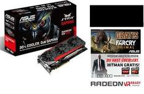 [Caseking.de] ASUS STRIX-R9390-DC3OC-8GD5-GAMING, Radeon R9 390, 8GB GDDR5, DVI, HDMI, 3x DisplayPort+ Hitman + Far Cry + Counter Belt Black  für 303,98€