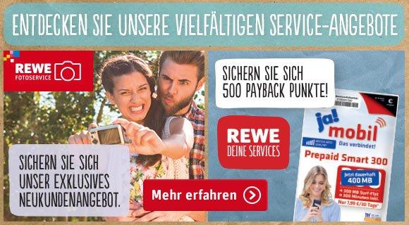 [ Rewe Foto ] Neukunden Geschenke und Sonderpreise!