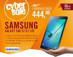 [ cyberport ] Cybersale: Samsung GALAXY Tab S2 9.7 T815N Tablet LTE 32 GB Android 5.0 schwarz
