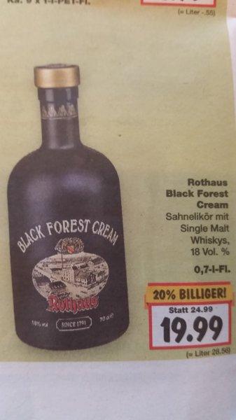 [LOKAL KAUFLAND Freiburg] Rothaus Black Forest Cream